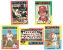 1975 Topps EX+ PHILADELPHIA PHILLIES Team Set