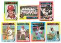 1975 Topps Mini VG-EX PHILADELPHIA PHILLIES Team Set