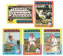 1975 Topps VG Condition - PHILADELPHIA PHILLIES Near Team Set Missing Schmidt