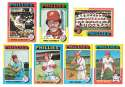 1975 Topps VG+EX PHILADELPHIA PHILLIES Team Set