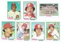 1978 Topps EX+ Condition A - PHILADELPHIA PHILLIES Team Set