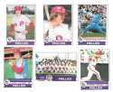 1979 TOPPS NRmt Condition - PHILADELPHIA PHILLIES Team Set