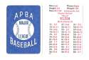1938 APBA Season - PHILADELPHIA PHILLIES Team Set