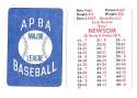 1938 APBA Season - ST LOUIS BROWNS (ORIOLES) Team Set