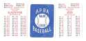 1938 APBA Season - ST LOUIS CARDINALS Team Set