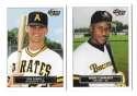 1993 Fleer Excel Minors PITTSBURGH PIRATES Team Set