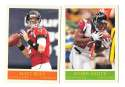 2009 UD Philadelphia Football Base Team Set - ATLANTA FALCONS