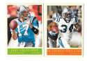 2009 UD Philadelphia Football Base Team Set - CAROLINA PANTHERS