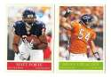2009 UD Philadelphia Football Base Team Set - CHICAGO BEARS