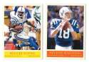 2009 UD Philadelphia Football Base Team Set - INDIANAPOLIS COLTS
