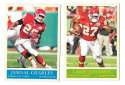 2009 UD Philadelphia Football Base Team Set - KANSAS CITY CHIEFS