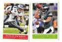 2009 UD Philadelphia Football Base Team Set - PHILADELPHIA EAGLES