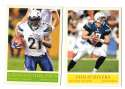 2009 UD Philadelphia Football Base Team Set - SAN DIEGO CHARGERS