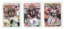 2012 Topps Magic 1-275 Football Team Set - CINCINNATI BENGALS