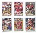 2012 Topps Magic 1-275 Football Team Set - SAN FRANCISCO 49ERS