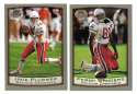1999 Topps Collections Football Team Set - ARIZONA CARDINALS