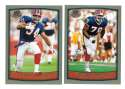 1999 Topps Collections Football Team Set - BUFFALO BILLS