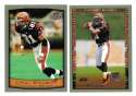 1999 Topps Collections Football Team Set - CINCINNATI BENGALS