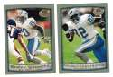1999 Topps Collections Football Team Set - DETROIT LIONS