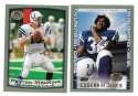 1999 Topps Collections Football Team Set - INDIANAPOLIS COLTS
