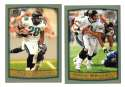 1999 Topps Collections Football Team Set - JACKSONVILLE JAGUARS