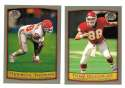 1999 Topps Collections Football Team Set - KANSAS CITY CHIEFS