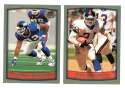 1999 Topps Collections Football Team Set - NEW YORK GIANTS