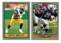 1999 Topps Collections Football Team Set - ST. LOUIS RAMS