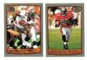 1999 Topps Collections Football Team Set - TAMPA BAY BUCCANEERS