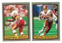 1999 Topps Collections Football Team Set - WASHINGTON REDSKINS