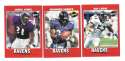 2001 Upper Deck Vintage Football Team Set - BALTIMORE RAVENS