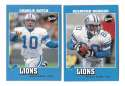 2001 Upper Deck Vintage Football Team Set - DETROIT LIONS