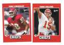 2001 Upper Deck Vintage Football Team Set - KANSAS CITY CHIEFS