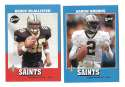 2001 Upper Deck Vintage Football Team Set - NEW ORLEANS SAINTS
