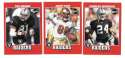 2001 Upper Deck Vintage Football Team Set - OAKLAND RAIDERS