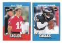 2001 Upper Deck Vintage Football Team Set - PHILADELPHIA EAGLES
