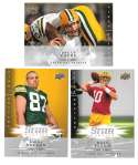 2008 Upper Deck First Edition Football Team Set - GREEN BAY PACKERS