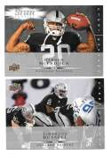 2008 Upper Deck First Edition Football Team Set - OAKLAND RAIDERS