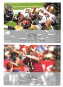 2008 Upper Deck First Edition Football Team Set - SAN FRANCISCO 49ERS