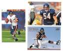 2008 Upper Deck Football (1-325) Team Set - CHICAGO BEARS