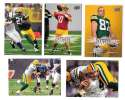 2008 Upper Deck Football (1-325) Team Set - GREEN BAY PACKERS