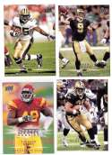 2008 Upper Deck Football (1-325) Team Set - NEW ORLEANS SAINTS