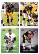 2008 Upper Deck Football (1-325) Team Set - PITTSBURGH STEELERS