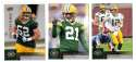 2009 Upper Deck Football (1-325) Team Set - GREEN BAY PACKERS