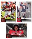 2009 Upper Deck Football (1-325) Team Set - KANSAS CITY CHIEFS