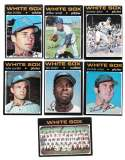 1971 Topps VG-EX CHICAGO WHITE SOX Team Set