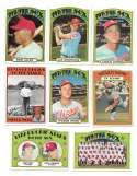 1972 TOPPS EX+ CHICAGO WHITE SOX Team Set