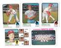 1973 Topps VG+ CHICAGO WHITE SOX Team Set