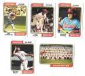 1974 Topps - CHICAGO WHITE SOX Team Set EX Condition