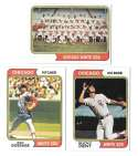 1974 Topps - CHICAGO WHITE SOX Team Set VG+EX Condition